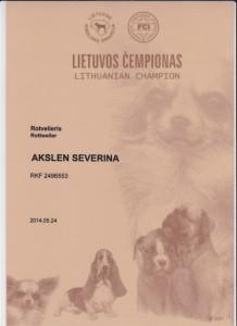 CH Lietuvos Severina