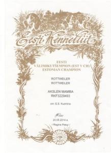CH Esti Mamba